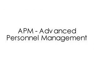 APM – उन्नत कार्मिक प्रबंधन