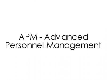 APM – Advanced Personnel Management