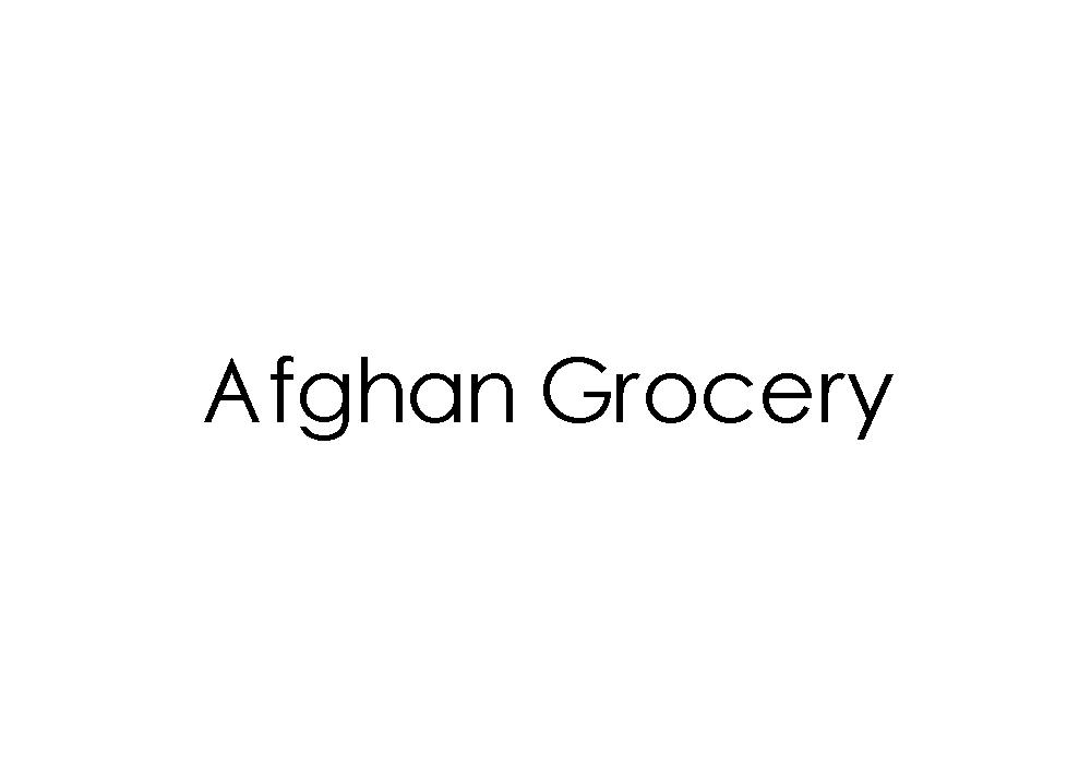 Afghan Grocery
