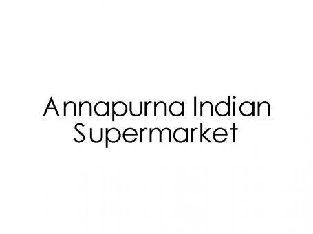 Annapurna Indian Supermarket