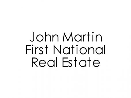 John Martin First National Real Estate