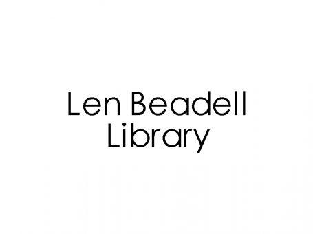 Len Beadell Library
