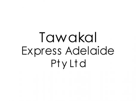 Tawakal Express Adelaide Pty Ltd