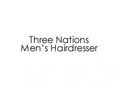 تصفيف شعر ثلاثة الأمم للرجال