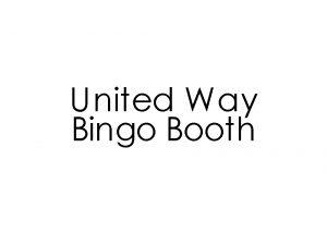 United Way Bingo Booth