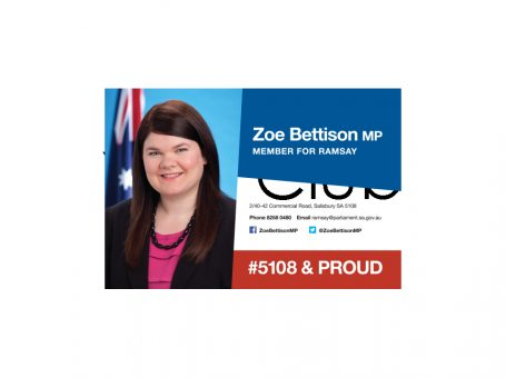 Hon. Zoe Bettison MP, Member for Ramsay