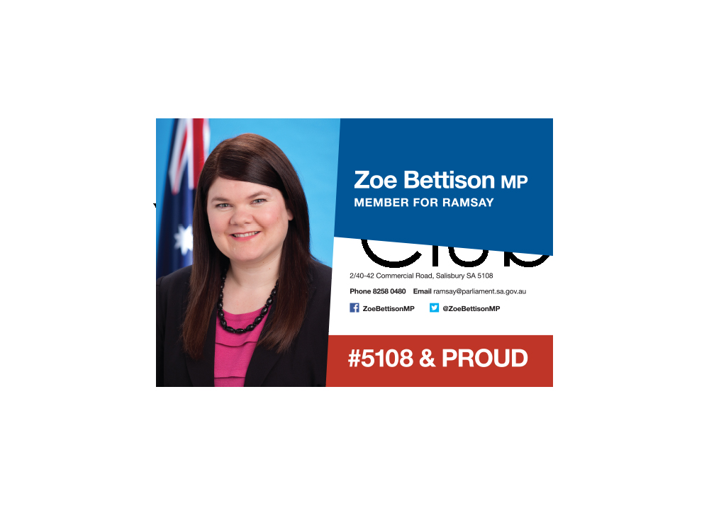 Hon. Zoe Bettison MP, Member for Ramsay