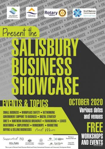 2020 Salisbury Business Showcase Month (October)