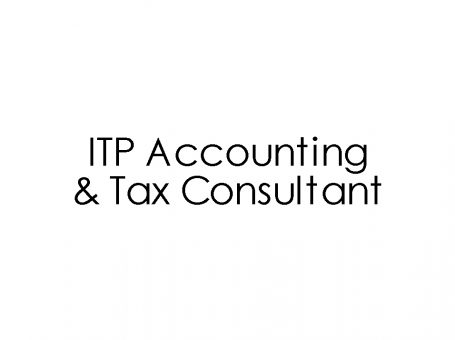 ITP Accounting and Tax Consultant