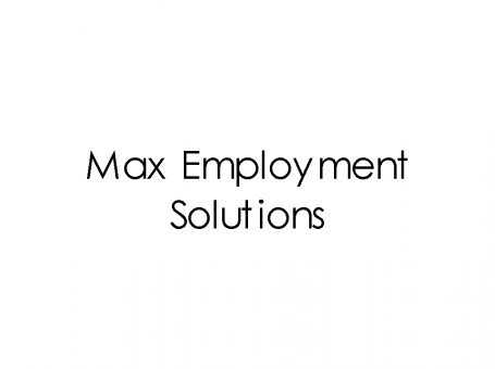 Max Employment Solutions