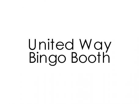 United Way Bingo Booth