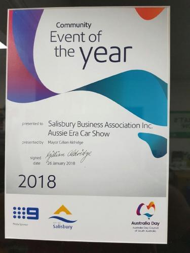 Australia Day Award 2018 1