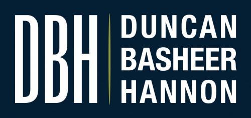 DBH Logo - Navy Background