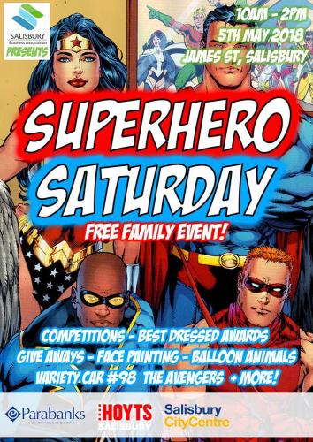 2018 Superhero Saturday